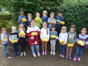 Bio-Brotboxen für die Schulanfänger