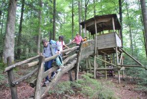 Ausflug zur Walderlebnisstation